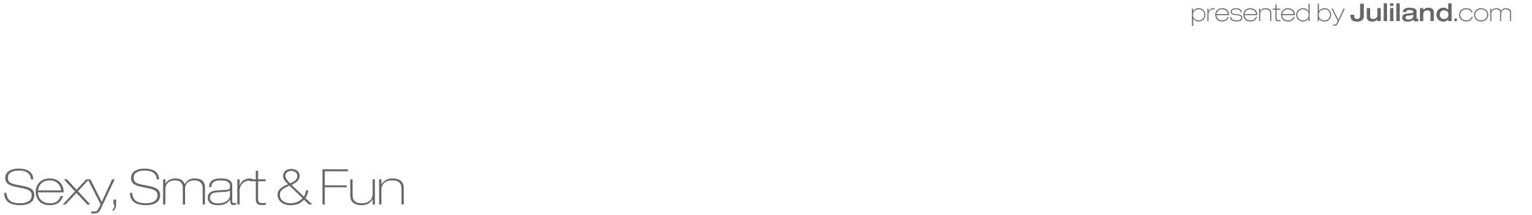 Juliland.com Retina Logo